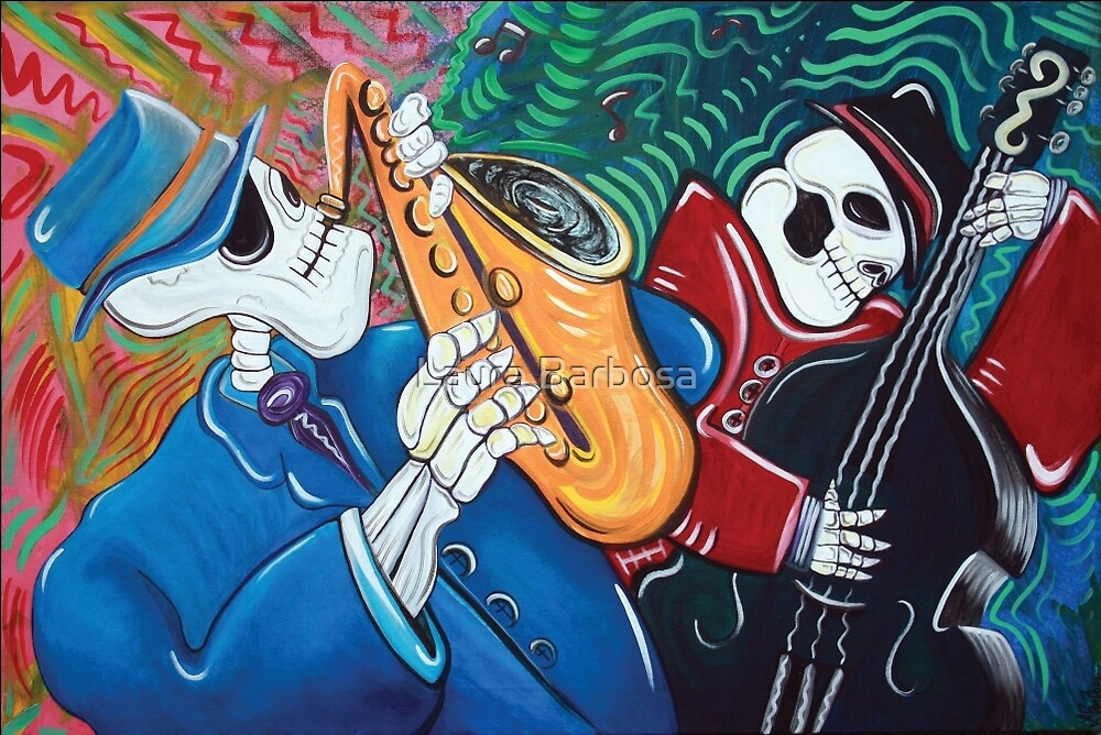 The Bad Blues Bone Band by Laura Barbosa