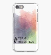 Team Helvetica iPhone Case/Skin