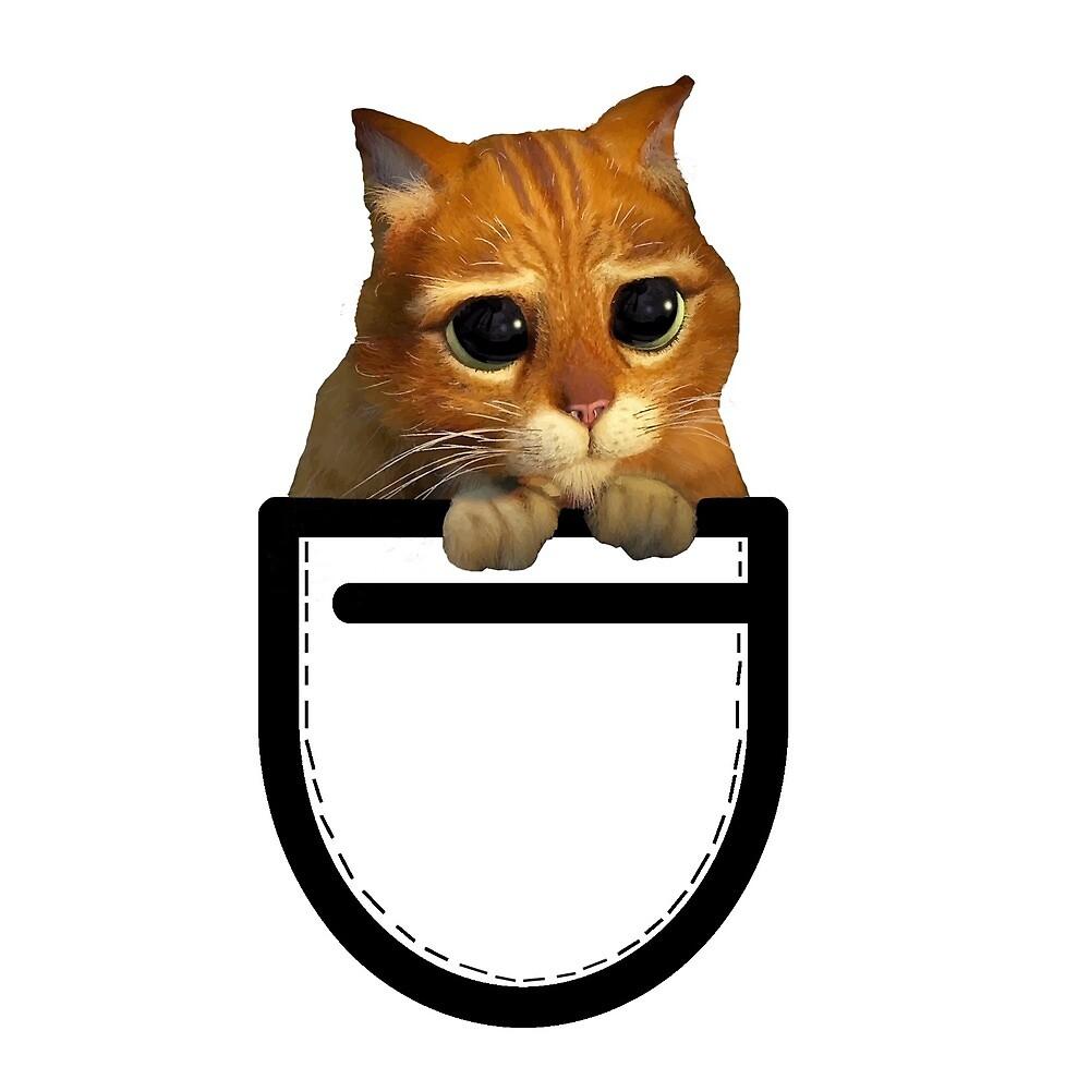 Cat in the Pocket by Warnunk