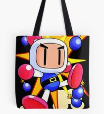 Saturn Bomberman Tote Bag