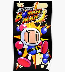 Saturn Bomberman Poster