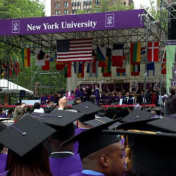 Commencement Exercises NYU by sholder