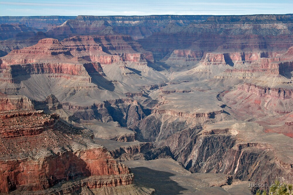 The Vastness of the Grand Canyon by Judson Joyce