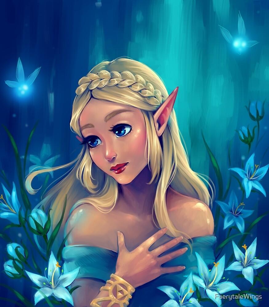 Silent Princess by FaerytaleWings