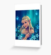 Silent Princess Greeting Card