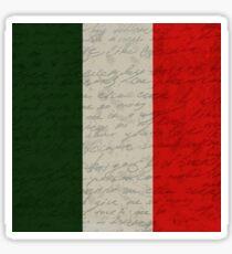 Vintage flag - Italia Sticker