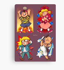Earthbound Kids - Group 2x2 Canvas Print