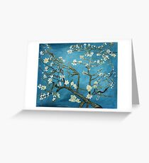 Van Gogh art, Blossoming Almond Tree, acrylic reproduction Greeting Card