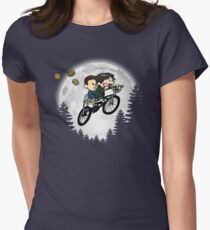 Mikey and El Women's Fitted T-Shirt