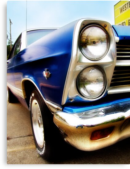 ford fairlane, route 66, miami, oklahoma by brian gregory