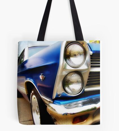 ford fairlane, route 66, miami, oklahoma Tote Bag