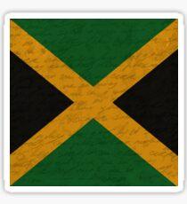 Vintage flag - Jamaica Sticker