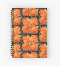 Dancing Poppy Spiral Notebook