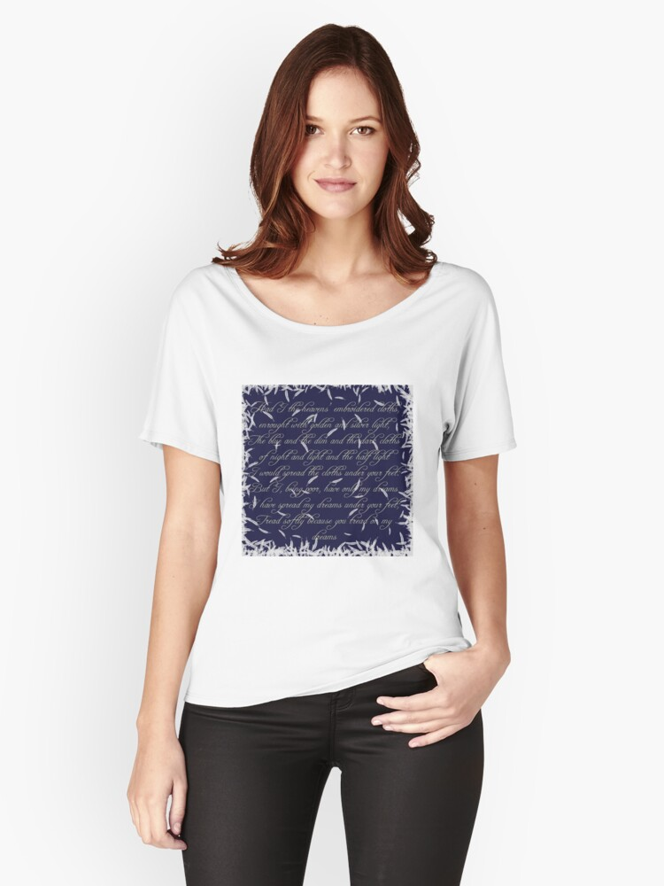 The Cloths of Heaven Women's Relaxed Fit T-Shirt Front