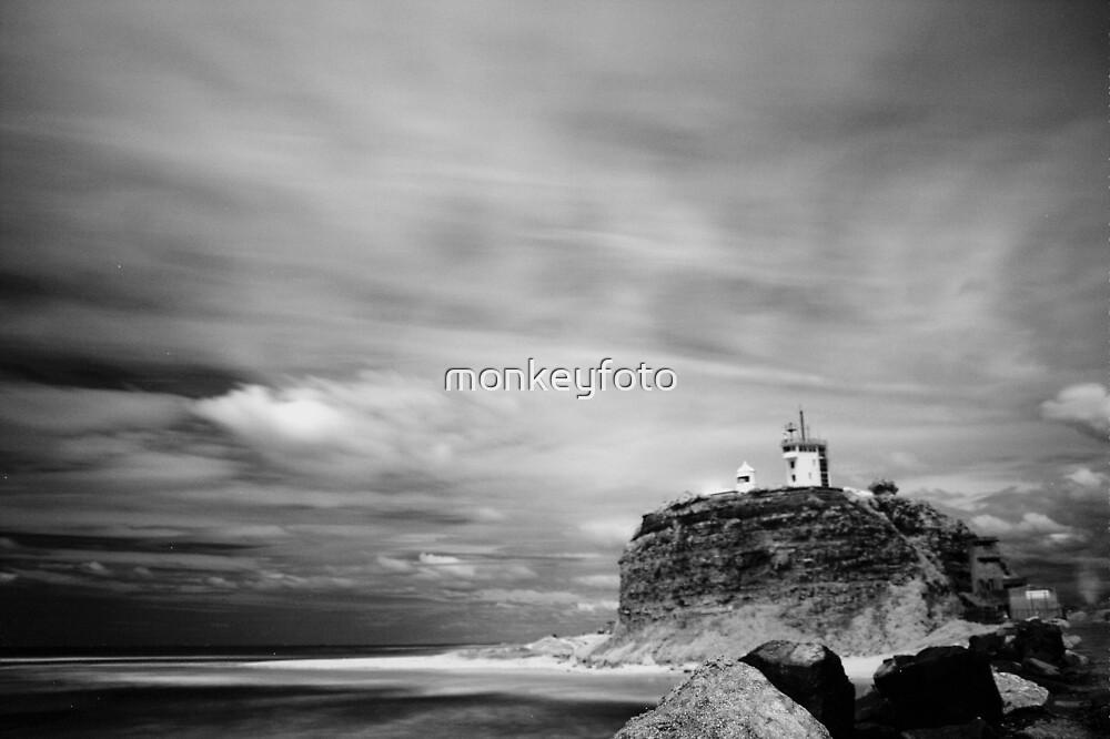 Nobby's Beach Lighthouse, Newcastle NSW by monkeyfoto