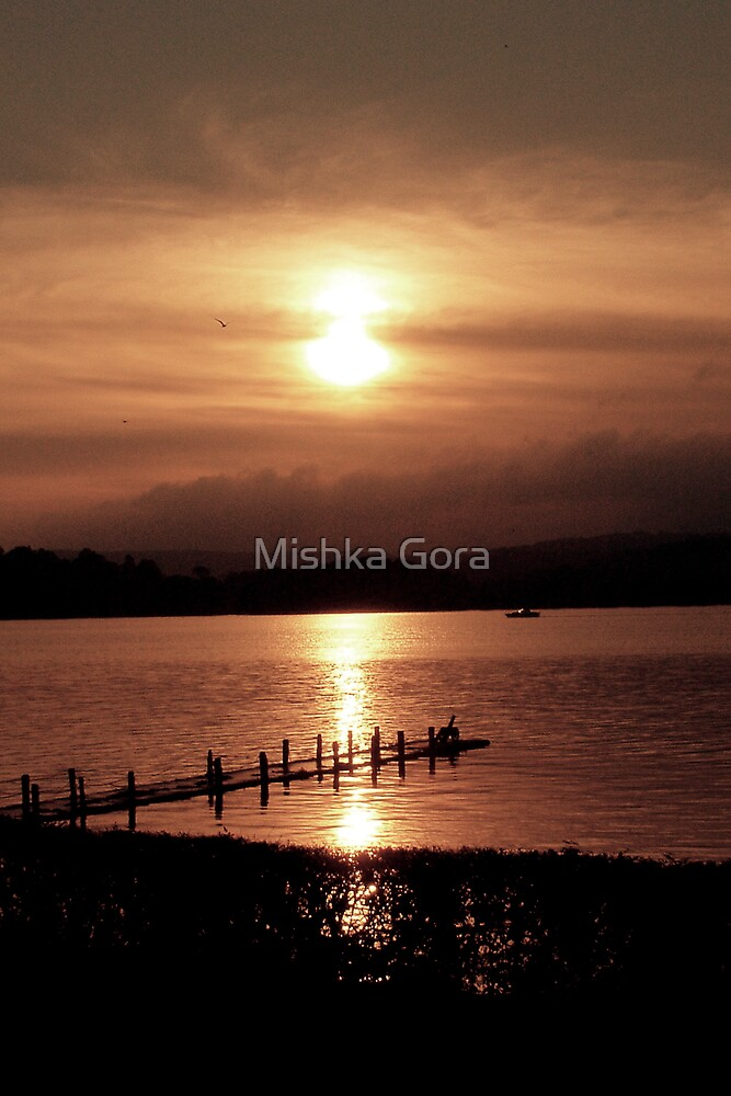 Windermere Sunset by Mishka Gora
