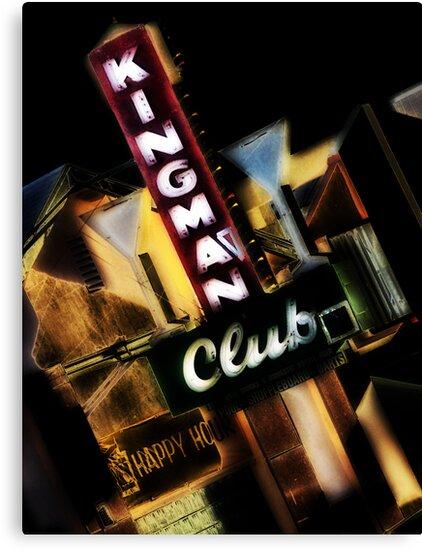 kingman club, route 66, kingman, arizona by brian gregory