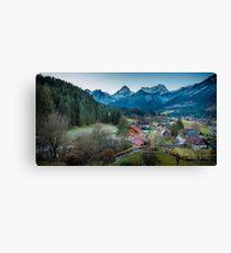 Hinterstoder, Austria Canvas Print