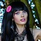 Mishka's Flying a Pink Button in her hair by MarcW