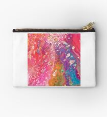 Rainbow River Abstract Studio Pouch