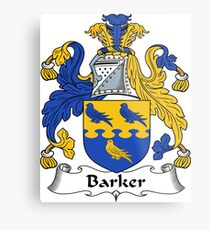 Barker  Metal Print