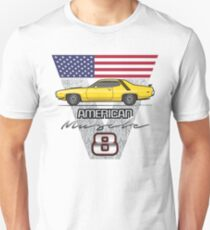 71-74 Yellow Runner Unisex T-Shirt