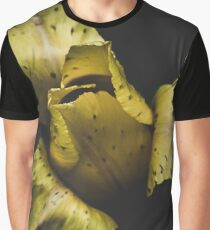 Yellow bumble bee tulip Graphic T-Shirt