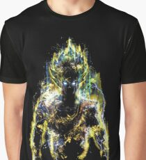 Anime Dragonball Z Super Saiyan Goku Graphic T-Shirt