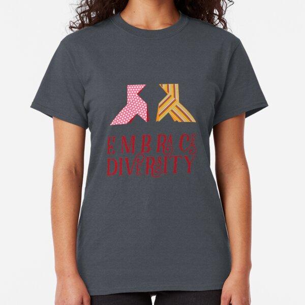 Embrace Diversity Camiseta clásica