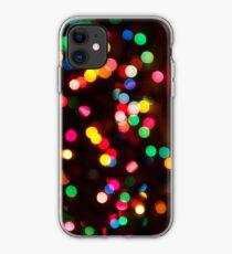 Bokeh - Christmas Light iPhone case iPhone Case
