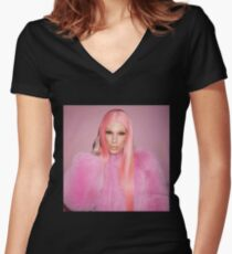 It's Jeffree Star Women's Fitted V-Neck T-Shirt