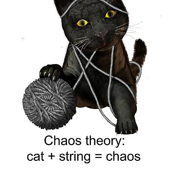 A cat and chaos theory defined by fotokatt