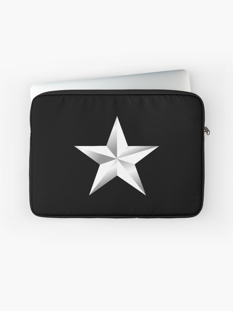 Silver Star, ARMY STAR, Army, Star, USA, Rank, Insignia, Officer, United  States Army, Air Force, Marine Corps  | Laptop Sleeve