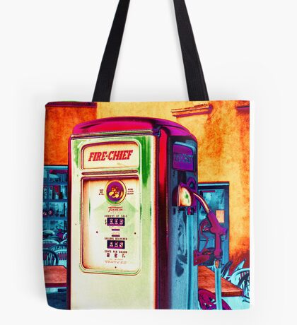 fire chief, route 66, albuquerque, new mexico Tote Bag