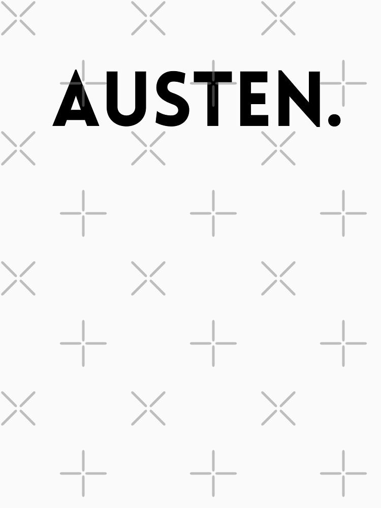 Jane Austen Minimalist Name by savantdesigns