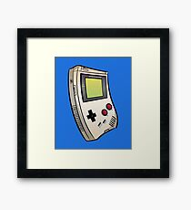 Gameboy Groove Framed Print