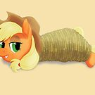 Tied-up Applejack by Stinkehund