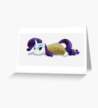 Tied-up Rarity Greeting Card