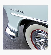 oldsmobile holiday, route 66 Photographic Print