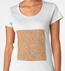 Fake cork Women's Premium T-Shirt