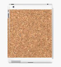 Fake cork iPad Case/Skin