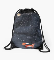 Fox Dream Drawstring Bag