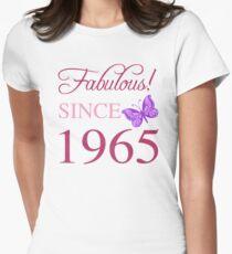 Fabulous Since 1965 Women's Fitted T-Shirt