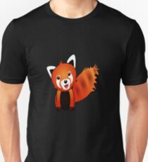 Cute Red Panda Graphic Unisex T-Shirt