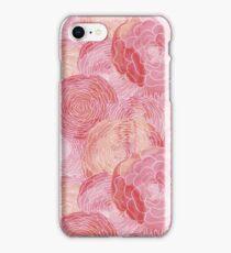 Watercolor Peony Garden iPhone Case/Skin