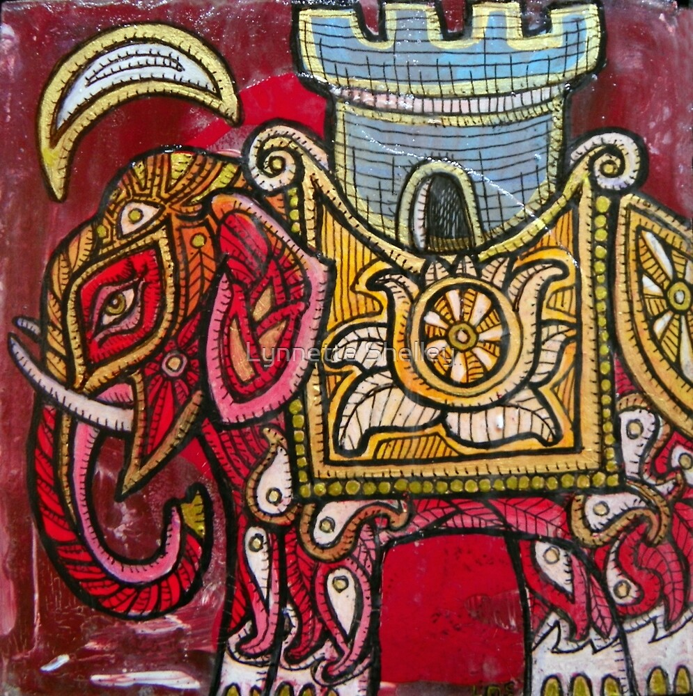 Elephant and Castle by Lynnette Shelley