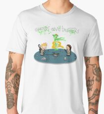 Ghosts and Busters Men's Premium T-Shirt