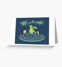 Ghosts and Busters Greeting Card