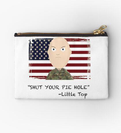 """Shut your pie hole!""- Little Top Zipper Pouch"