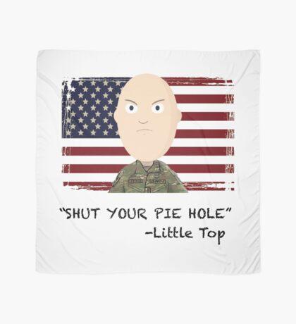 """Shut your pie hole!""- Little Top Scarf"
